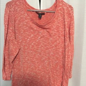 Coral sweater size L